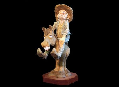 Wood Carving, Caricature
