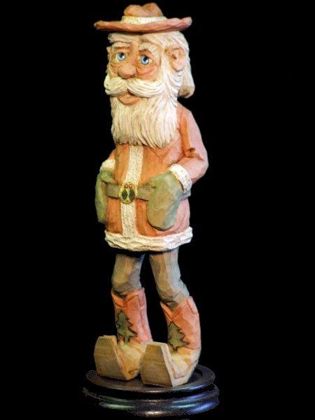 Santa in Boots