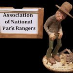 Donated Carving for the Association of National Park Rangers in 2016