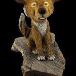"""Happy Coyote"" Caricature"
