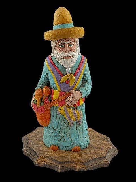 Turquoise Santa